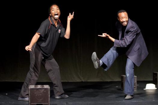 The pantsula dance