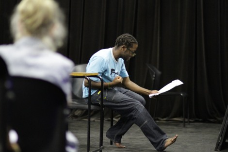 Reading for the character of Oupa Ledwaba